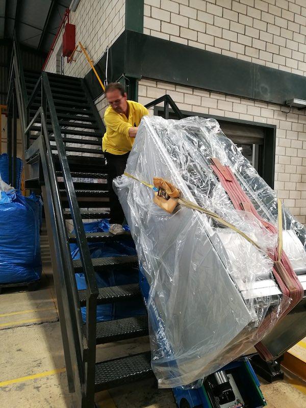 Transporte de mercancía pesada