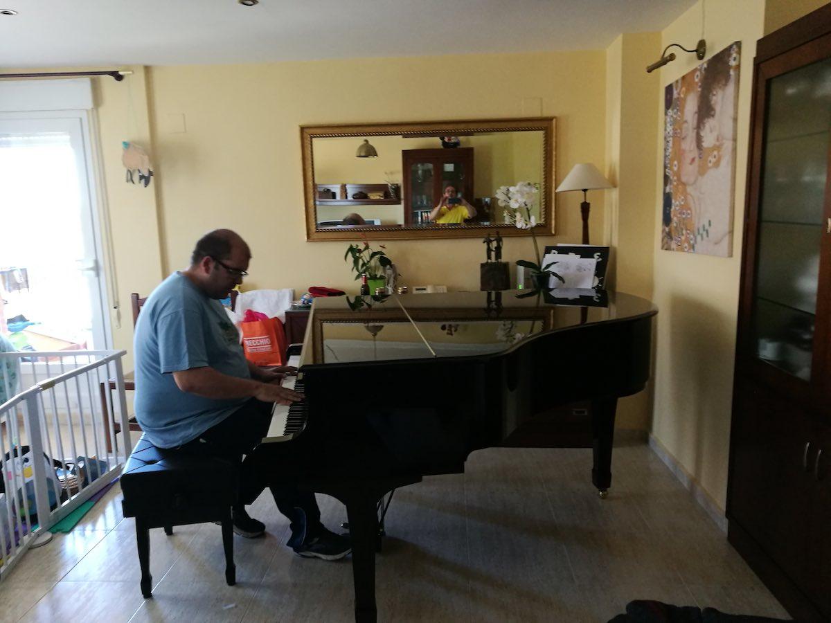 traslado piano